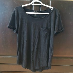 Black H&M Basic Top Small